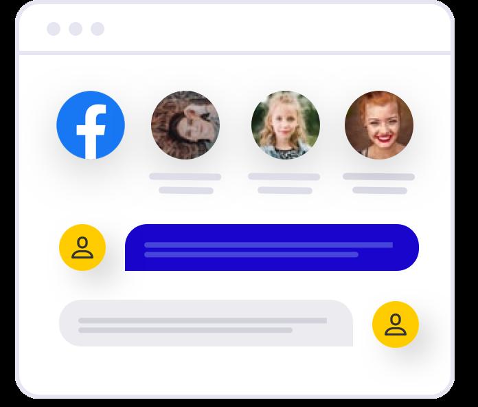 Закрита група Facebook